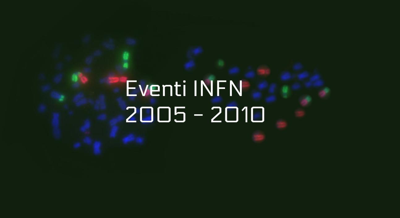 eventi INFN 2005-2010