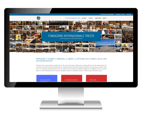 Fondazione Internazionale Trieste desktop