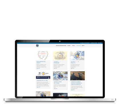 Fondazione Internazionale Trieste laptop