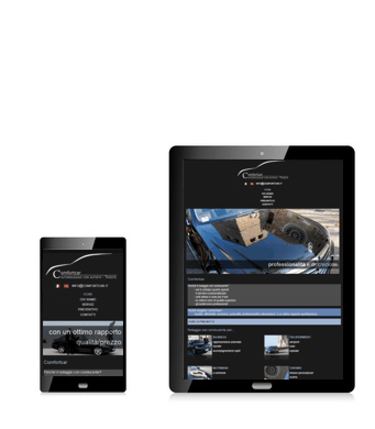Comfortcar desktop mobile