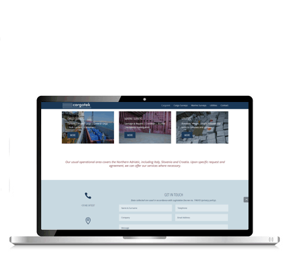 sito Cargotek Laptop