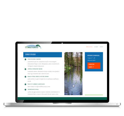 Ecomultiservice sito web