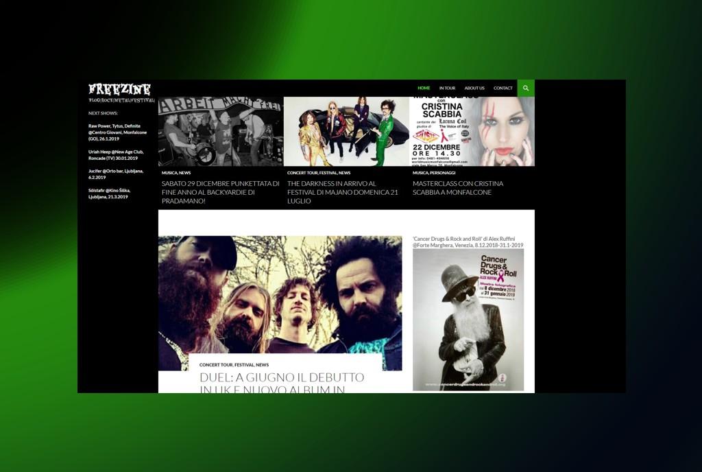 Freezine blog