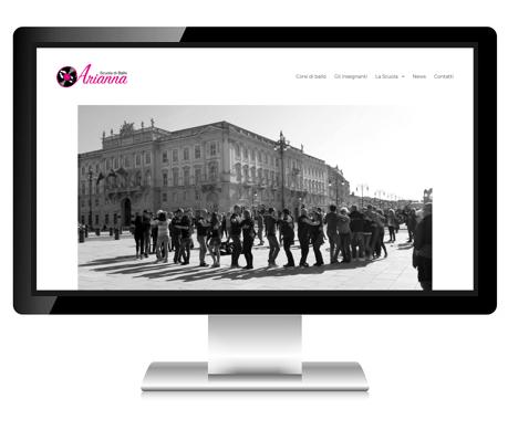 Scuola di ballo Arianna Trieste desktop