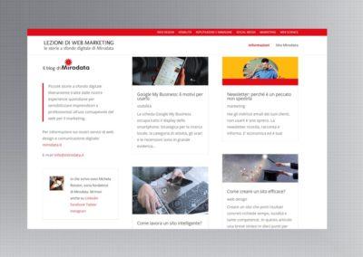 Lezioni di web marketing, il nostro blog