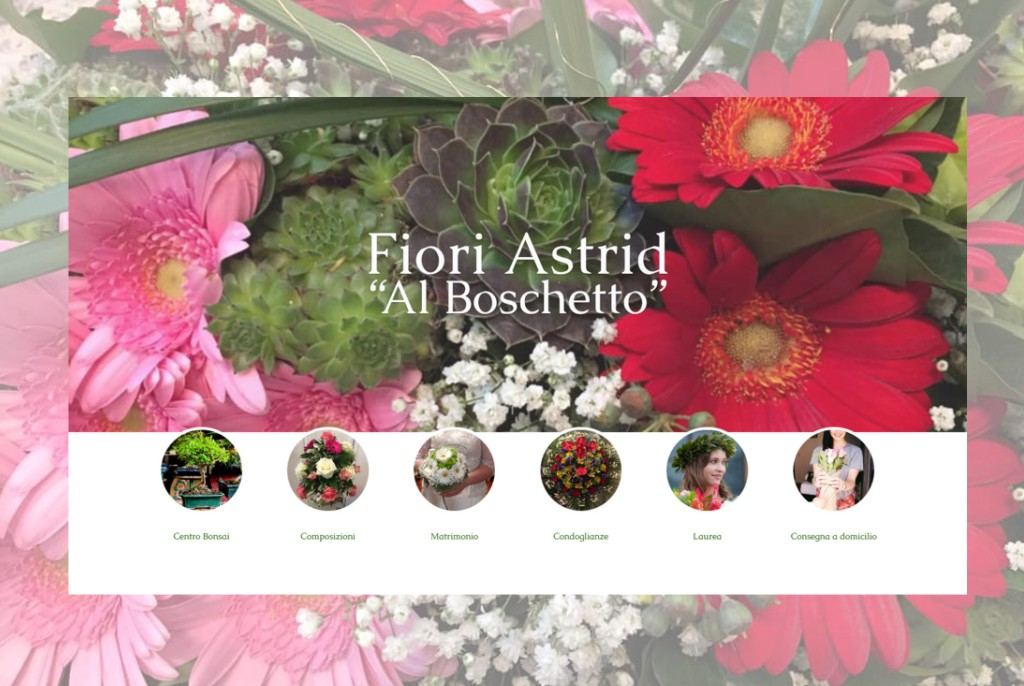 Fiori Astrid al Boschetto sito web