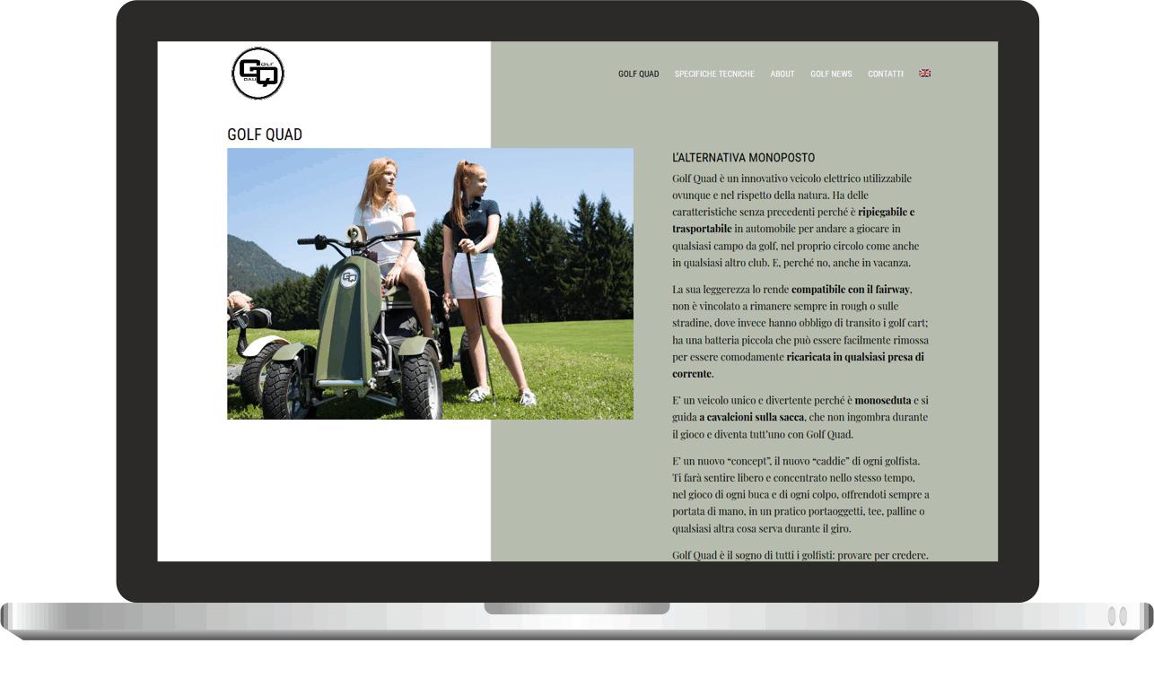 Golf Quad  Laptop