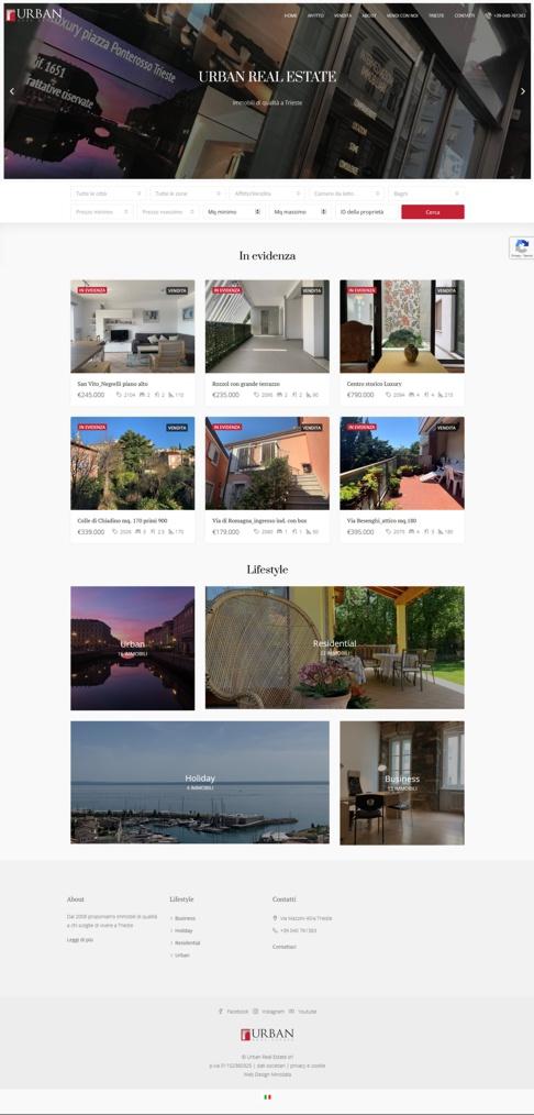 Urban REal Estate home