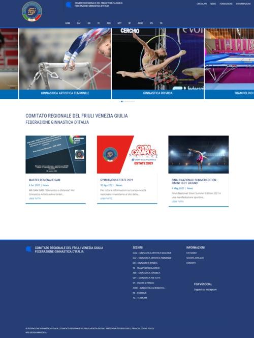 Realizzazione sito web FGI FVG
