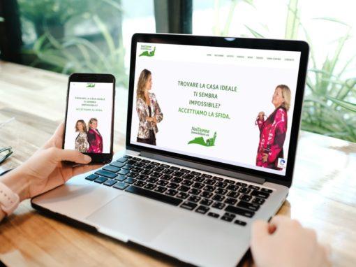 Realizzazione sito web Noi Donne Immobiliare